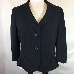 Ann Taylor blazer black size 10